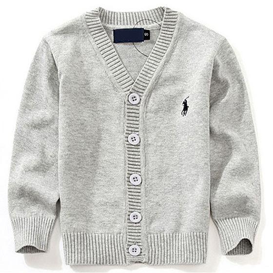 2019 Mode Nouveaux Enfants Chandail Automne Enfants Polo Cardigan Manteau Bébé Garçons Filles single-breasted jacket Pulls Vêtements d'extérieur