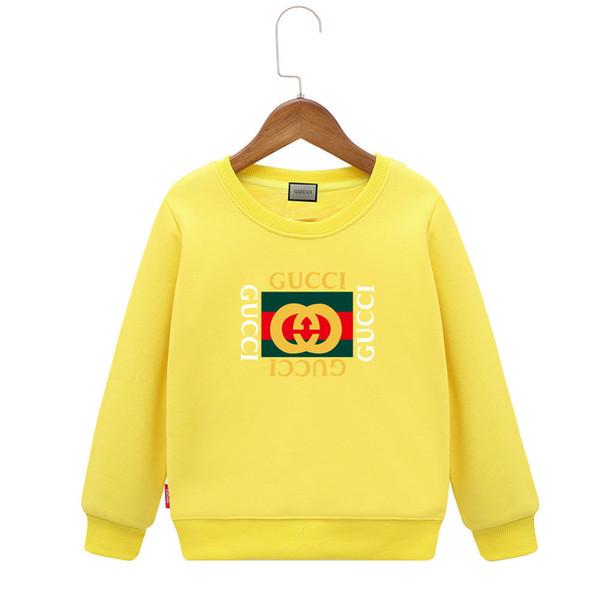 Cool Sweatshirts Children Plus Velvet Autumn And Winter 2018 New Pattern Girl Letter Sweater Even Cap Boys Jacket Thickening