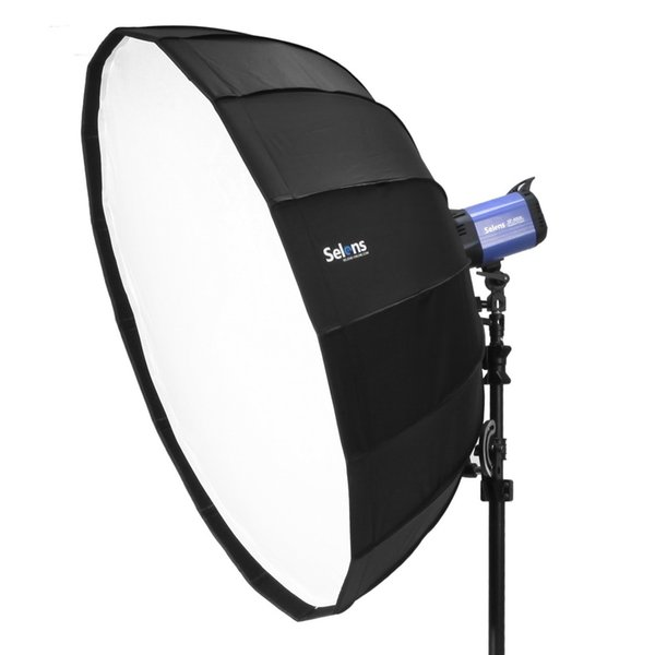 elens 65/85/105 Diffuser Reflector Parabolic Umbrella Beauty Dish Softbox For Flash Fotografia Light Box Carrying Bag Selens 65/85cm/105c...