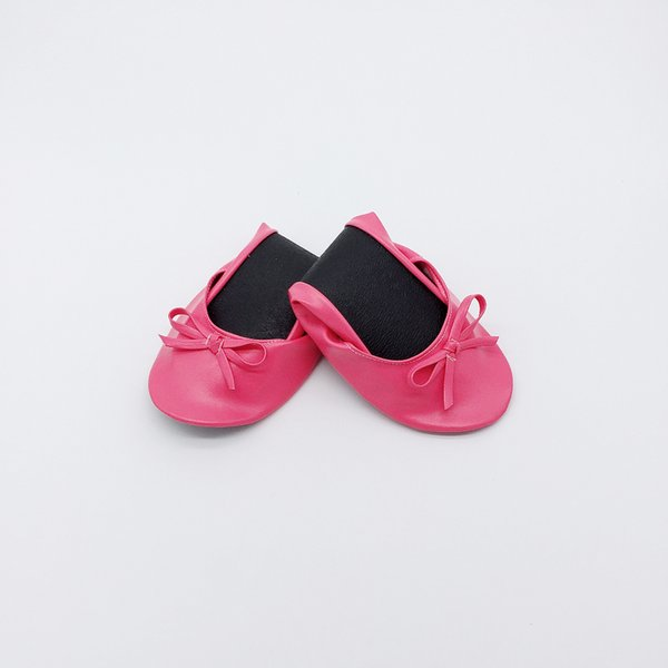 Cheap Women Travel foldable shoes with logo printing for sale