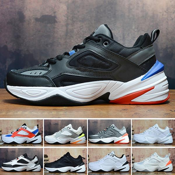 Nike Air Monarch the M2K Tekno Neue Monarch der M2K Tekno Dad Herren Sport Laufschuhe Phantom Damen Sneakers Unisex Black Volt Damen Fashion Trainer Designer Schuhe mk9
