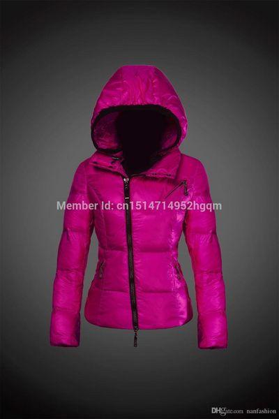 Yeni Kadın Down Ceketler Kadın Plus Size Parkas Aşağı 2018 Kadın Tüy Kapşonlu Sıcak Kış Ceket Kadın Down Coat Kaz
