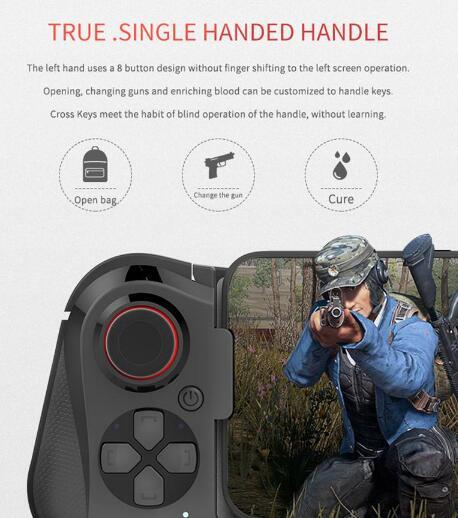 Wireless Bluetooth Mocute 058 Gamepad Gaming Controller for Android Phone PUBG Game Telescopic Joystick