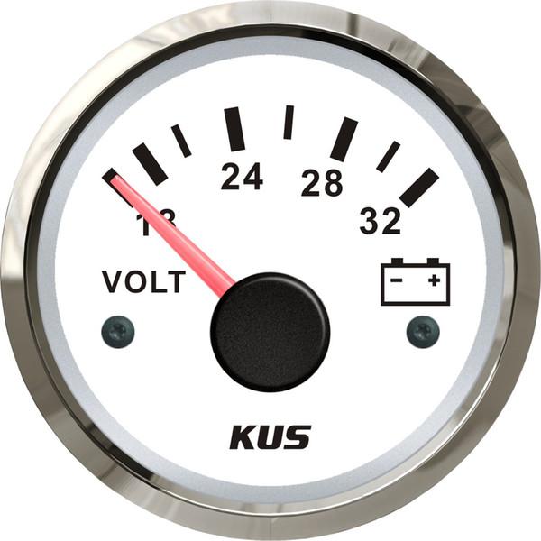 Hohe Qualität KUS Auto Auto Lkw Boot 24 V 52mm Motor Voltmeter Gauge Display 18-32 V