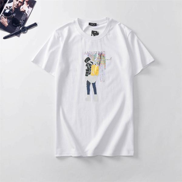 Men Women Designer T Shirt Luxury Women Men Brand Tees 2019 New Arrival Mens Womens Summer Breathable T Shirts Casual Outdoor Tees