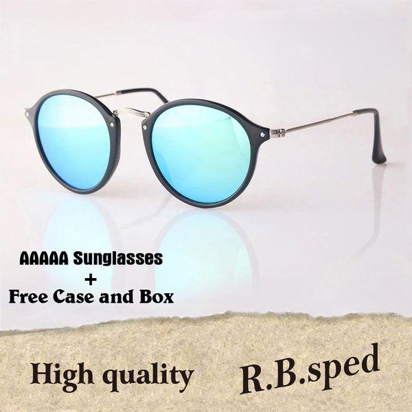 eae713872 11 Cores Clássico Rodada Óculos De Sol Das Mulheres Dos Homens Óculos de  Marca Designer De