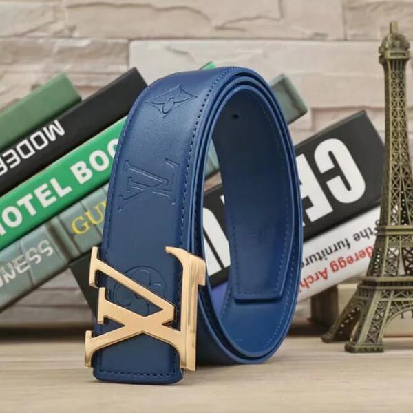 Hot sale men women beltsOriginal Design Belts Men and Women Fashion Belt Women Leather Belt Gold Silver and Black Buckle Multi color belt
