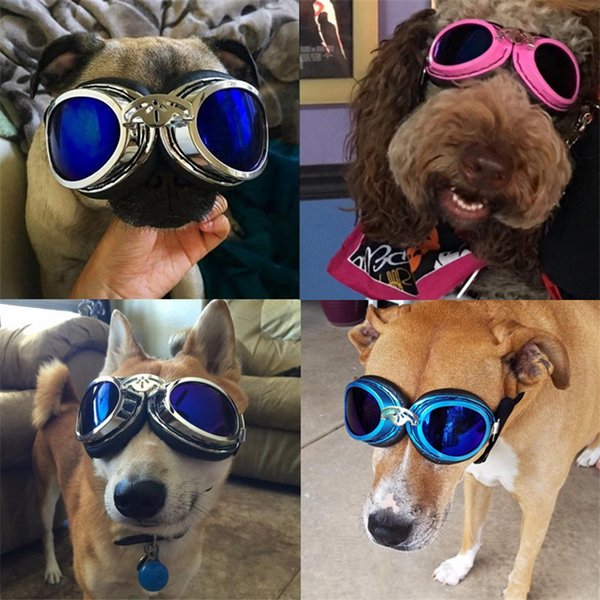 Dog Sunglasses Foldable Pet Dog Glasses Wind Protection Goggles for Small and Medium Dog Accessories