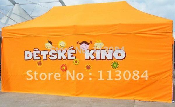 Frete Grátis 4m x 8m Profissional 40x40x2.0mm Tenda de Alumínio Dobrável / Festa Tenda / Evento Gazebo Canopy Barraca de Feira de Negócios