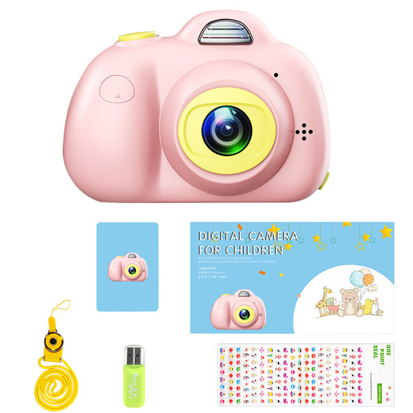 Enfants Éducatif Toddler Toy Photo Camera Enfants Mini Digital Camera Toy avec des cadeaux de la photographie pour 8MP HD Toy Camera