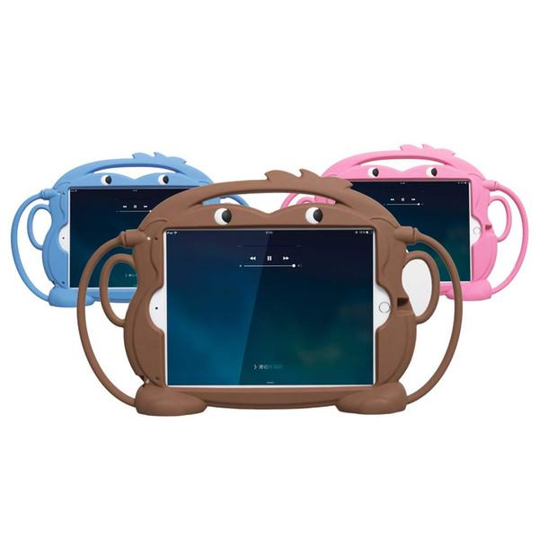 Дети iPad чехол для нового iPad 2017/2018 противоударный силиконовый защитный чехол для 9,7-дюймовый iPad Pro / Air / Air2 / 5th / 6th таблетки