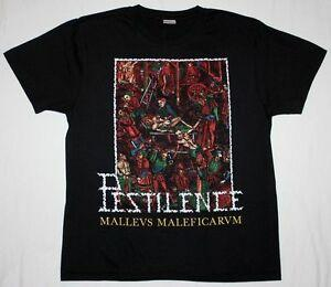 PESTILENCE MALLEUS MALEFICARUM DEATH METAL ASPHYX GORGUTS NEW BLAUnisex T-SHIRT