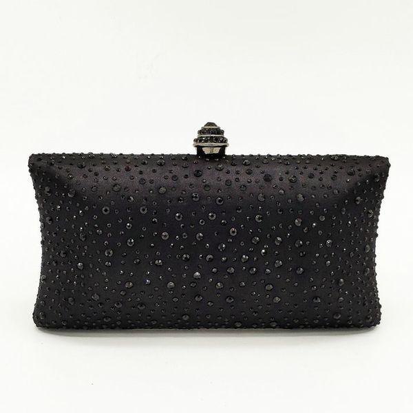 Black Crystal Bag