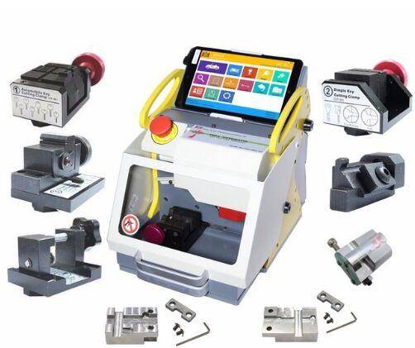 Original SEC-E9 Full Clamps CNC Automatic Key Cutting Machine For Car Keys & House Keys Better Than Slica I80 Key Machine