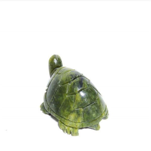 высокое качество натуральный зеленый драгоценный камень кварц долговечность кристалл черепаха фигурка животных