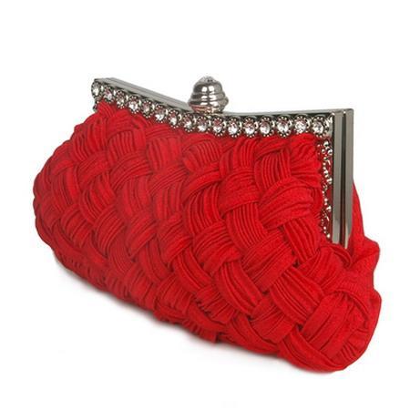 2019 Women Fashion Weave Clutch Bag Elegant Ladies Evening Party Bag Small Chain Crossbody Mesenger Bag Girls Handbag Shoulder Bags