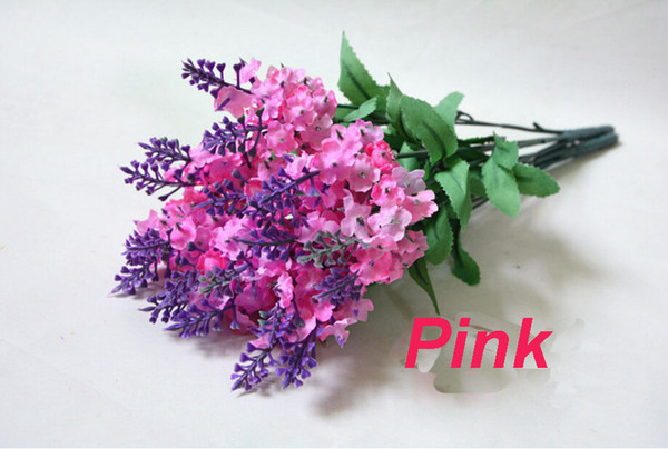 lavender Provence fake flower artificial flower wedding decoration Home decoration flower lavender special factory direct sales