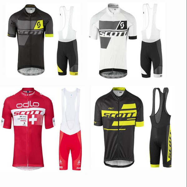 New SCOTT Summer Short Sleeve Cycling Jersey Thin Men and Women Bicycle Clothing Roller Skating Clothing Cycling Clothing