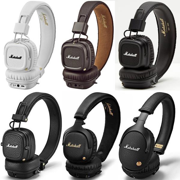 best selling Hight Quality Marshall Headphones of MAJOR I II III MID ANC MONITOR MODE EQ Wired Wireless Bluetooth On ear Headphones STOCKWEL Speaker