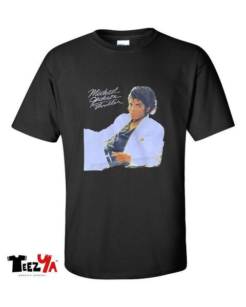 Michael Jackson Thriller T-Shirt 80'S Pop Music Graphic Tee
