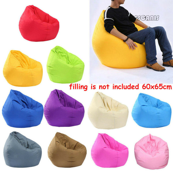 Fine Creative Portable Lazy Bean Bag Cover Adults Sitting Couch Sofas Game Seat Lounge Dust Protector Ottoman Seats Single Chair Slipcover For Dining Caraccident5 Cool Chair Designs And Ideas Caraccident5Info