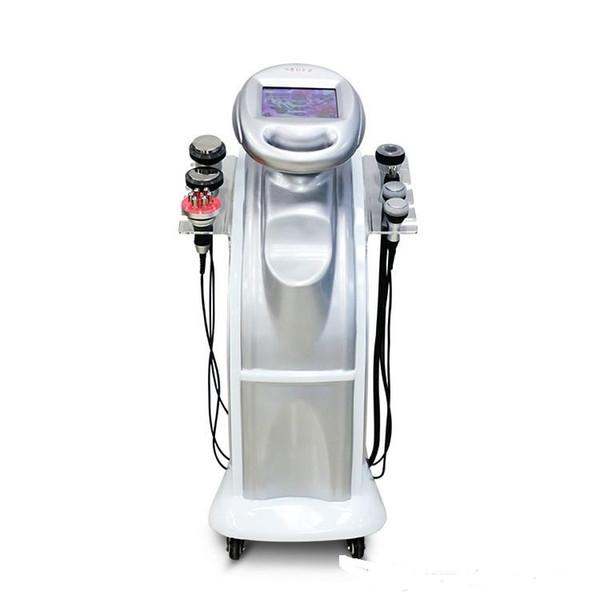 Hot selling!!! 7-1 Ultrasonic Liposuction Cavitation Fat Burning Biopolar RF Face Care Vacuum Body Slimming Machine Spa