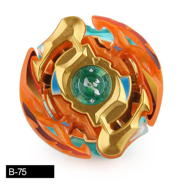 Gold Color 4d Beyblade Burst B-75 without launcher gold color Metal Booster spinning Top Starter Gyro Toy Kid Gift