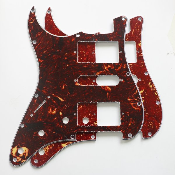 Panel double single and double pickup slot Celluloid Tortoise electric guitar left hand shield