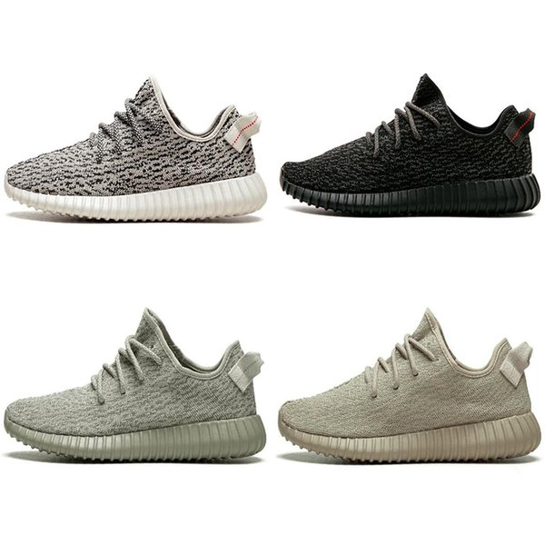 top popular New V1 Moonrock Pirate Black Oxford Tan Turtle Dove Grey Women Men Running Shoes Sports Kanye West Fashion Casual Sneakers 2020