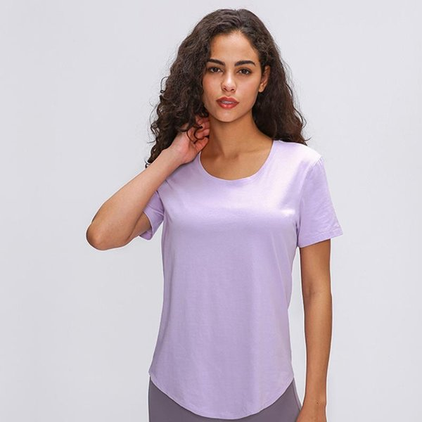 Purple sports top