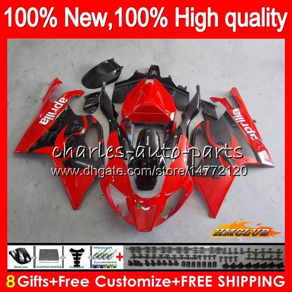 Corpo Per Aprilia factory Red Hot RSV1000R Mille RV60 RSV1000RR 2003 2004 05 06 62HC.4 RSV 1000 R 1000R RSV1000 R RR 03 04 2005 2006 carenatura