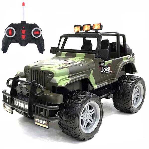 RC Car 1:14 4WD Rock Crawler 4x4 Driving Car Double Motors Drive Bigfoot Car Model Off-Road Vehicle Toy