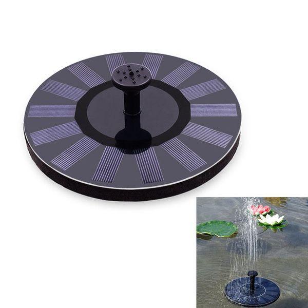 free ship Eco-friendly Solar Powered Sprinkler Water Pump Solar Decorative Fountain For Garden Pond Fish Tank Water-circulatio