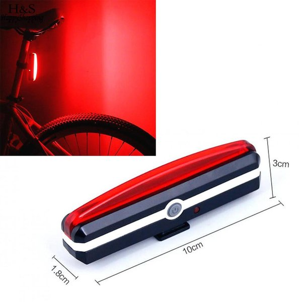 USB Lithium LED 3 Bike 5V1A Bicycle Taillight 7V 500mAh Light Shockproof Waterproof in Battery Taillights Built Ion