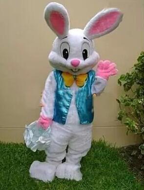 Venta de la fábrica 2019 venta caliente como tortas calientes traje de la mascota del conejito de Pascua Bugs Rabbit