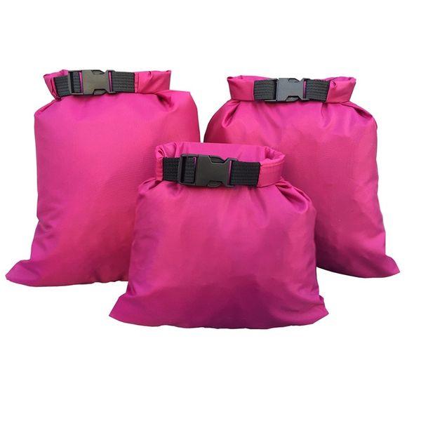 3шт/комплект водонепроницаемый плавание водные виды спорта портативный перевозящих ценные и скоропортящиеся предметы сухие мешки #361835