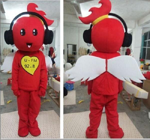 Music angel tooth snownman cartoon dolls mascot costumes props costumes Halloween free shipping