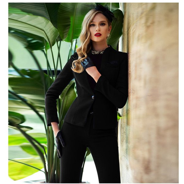 Special Offer Pantalones Mujer Office Uniform Womens Business Suits Formal Style New Women Work Wear Suitwomen Custom Made