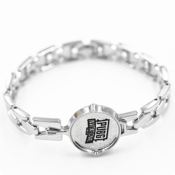 Bracelete novo da corrente das mulheres dos homens da forma do bracelete do jogo PUBG da liga do projeto
