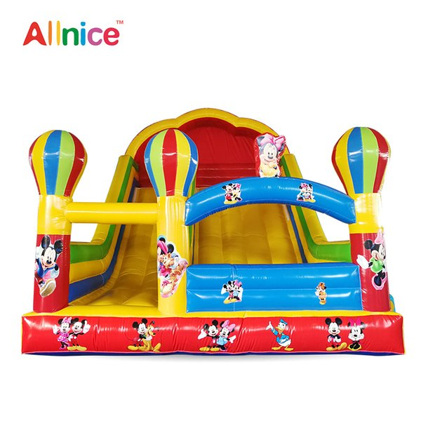 Inflatable Bouncers Outdoor sports Inflatable slide inflatable castle children's paradise outdoor play happy slide castle slide