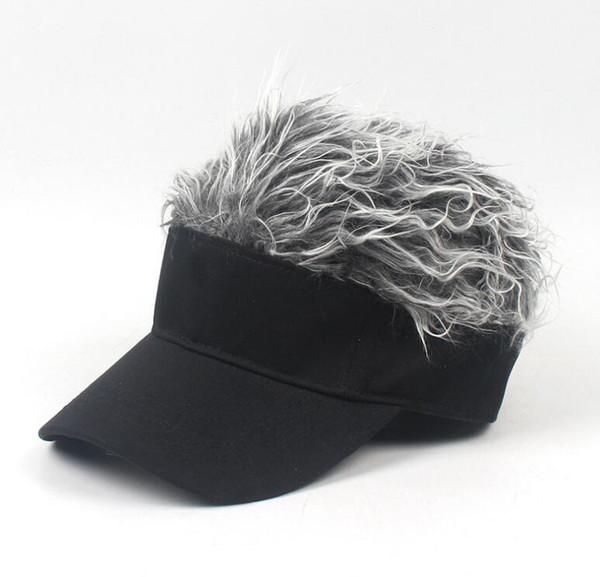 adult silver Wig design
