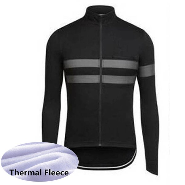 2019 RAPHA team Men Winter Thermal Fleece Cycling Jersey Long Sleeve Warm Bicycle Clothes Outdoor Sportswear bike Uniform K110810