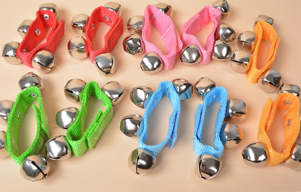 Baby Kids Rattles Hand Wrist Foot Bell Toys Girls Boys Educational Dancing Toy 50 p/l