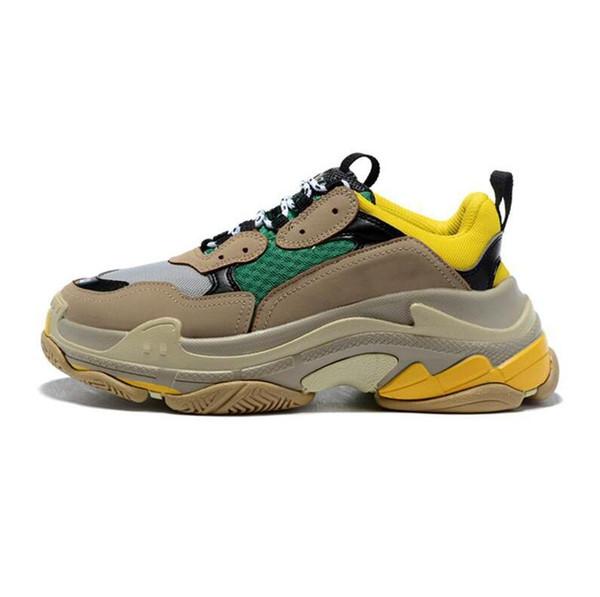 Qualitätsprodukte Auf Abstand am besten kaufen Großhandel 2019 Größe 36 45 Mode Njk Triple S Casual Schuhe Triple S Männer  Frauen Low Lace Up Casual Sportschuhe Outdoor Unisex Zapatillas ...