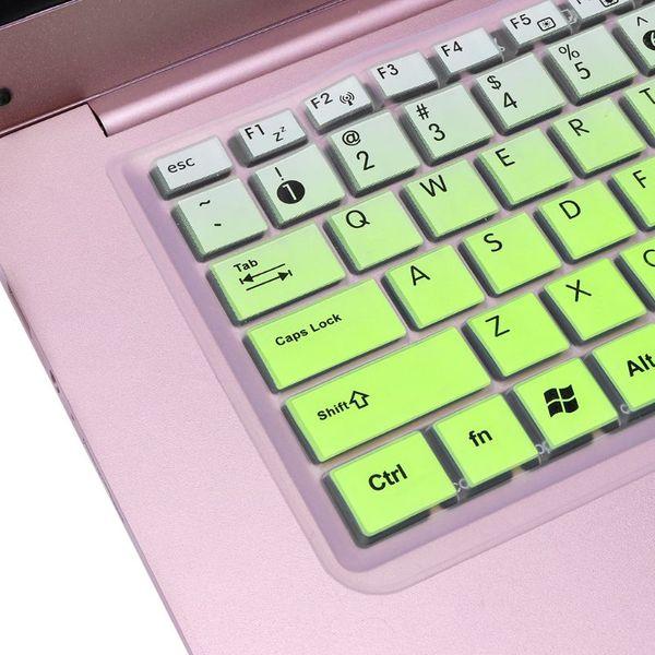 Klavye Kapak Tuş Filmi Cilt Koruyucu Dizüstü Silikon Koruma için Asus K50 Dizüstü Aksesuar N84B