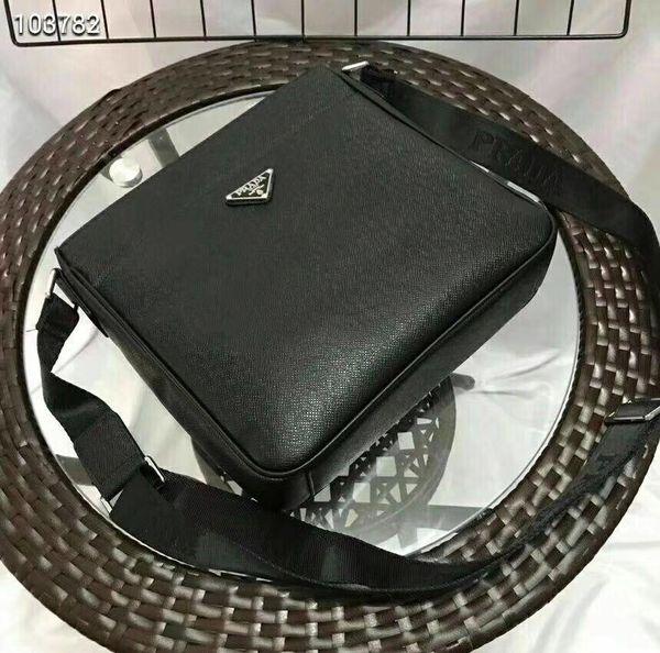Gli uomini caldi del progettista insaccano la borsa diagonale di modo casuale Materiale di cuoio degli uomini materiale delle borse di affari degli uomini di alta qualità 27 * 25 * 5cm 8020