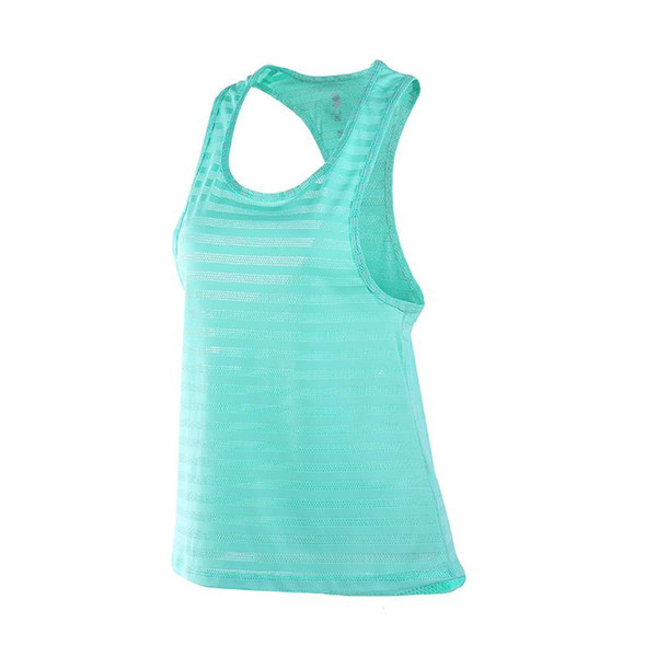 New Women Sexy Fitness Tight Sport Yoga Shirt Dry Fit Sleeveless Sportswear Blouses Running Vest Workout Crop Top Female T-shirt