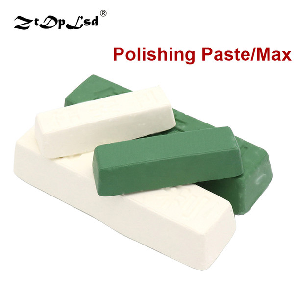 best selling 1Pcs Jewelry Polishing Paste Buffing Compound Knife Sharpener Metal Iron Grinding Tools Abrasive Wax Polish Care Alumina Rouge