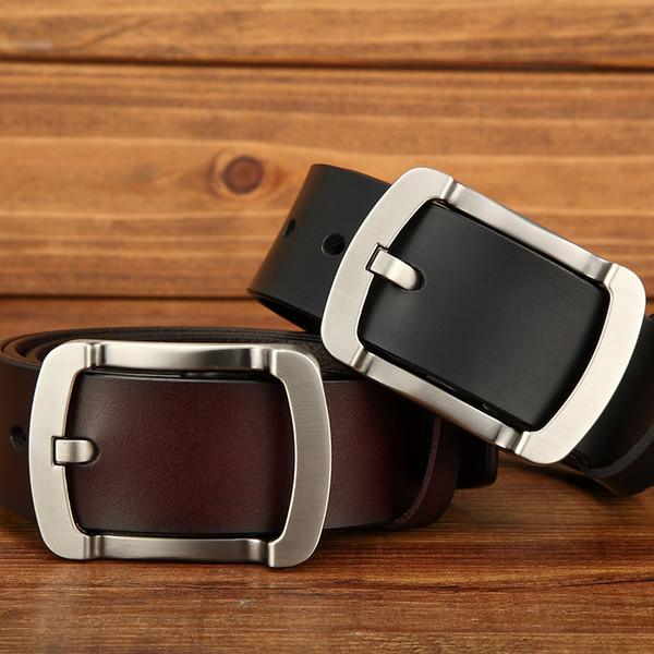 2019 Belt high quality men's genuine leather belt designer MB buckle belts men luxury belts for men women fashion pin buckle ZK-11
