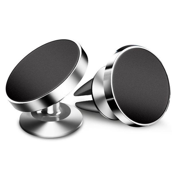 Soporte para teléfono magnético para coche 360 Rotación Soporte para teléfono universal para iPhone X XS MAX XR 7 8 Plus Samsung S10 S9 Plus